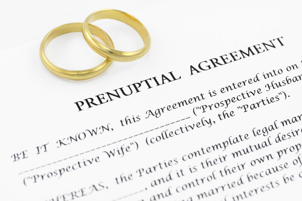 Prenuptial Agreements in New York